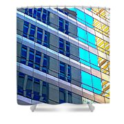 Chicago Structure 8 16 5 Shower Curtain