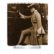 Chicago Suffragette Marching Costume Shower Curtain by Padre Art