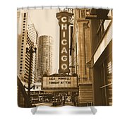 Chicago Theater - 3 Shower Curtain