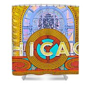Chicago Theatre Shower Curtain