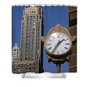 Chicago Time Shower Curtain