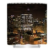 Chicago Times Shower Curtain