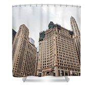 Chicago Towers Shower Curtain