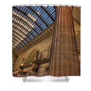 Chicago Union Station Column Shower Curtain