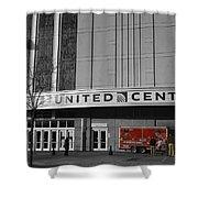 Chicago United Center Signage Sc Shower Curtain