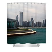 Chicago Waterfront Shower Curtain