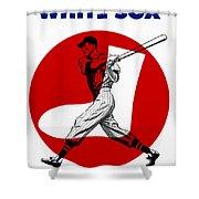 Chicago White Sox 1960 Scorebook Shower Curtain
