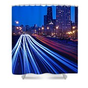 Chicagos Lake Shore Drive Shower Curtain