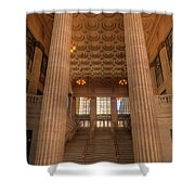 Chicagos Union Station Entry Shower Curtain