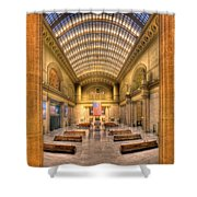 Chicagos Union Station Shower Curtain