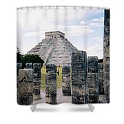 Chichen Itza 3 Shower Curtain