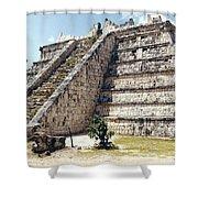 Chichen Itza Mexico 4 Shower Curtain