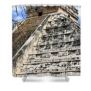 Chichen Itza Up Close Shower Curtain