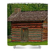 Chickamauga No 4 Shower Curtain