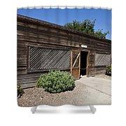 Chicken Coop At Ardenwood Historic Farm Shower Curtain