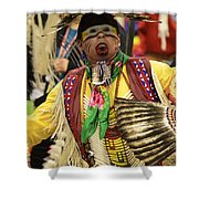 Pow Wow Chicken Dancer Shower Curtain