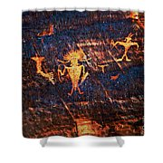 Chief Among Warriors Shower Curtain