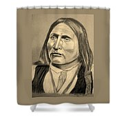 Chief Big Bow Shower Curtain