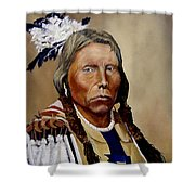 Chief Crazy Horse Shower Curtain