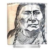 Chief Joseph Shower Curtain
