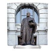 Chief Justice Edward Douglas White Statue- Nola Shower Curtain