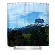 Chief Mountain, Emerging Shower Curtain