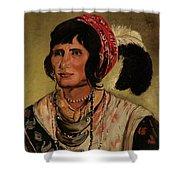 Chief Osceola Shower Curtain