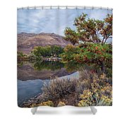 Chief Timothy Reflections Shower Curtain
