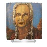 Chiefly Wisdom Shower Curtain