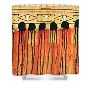Chiefs Blanket Shower Curtain