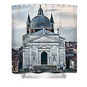 Chiesa Del Redentore Venice Shower Curtain