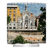 Chiesa Del Sacro Cuore Del Suffragio Shower Curtain
