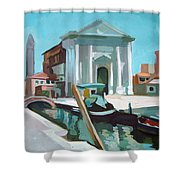 Chiesa San Barnaba Shower Curtain