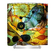 Chihuly's Ceiling Shower Curtain