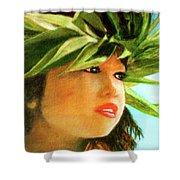 Child Keiki In Hawaiian No# 84 Shower Curtain