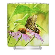 Child Of Sun And Summer Shower Curtain