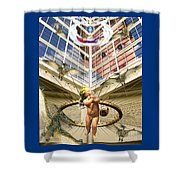 Child Wonder Shower Curtain