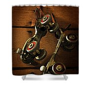 Childhood Memories Shower Curtain by Fran Riley