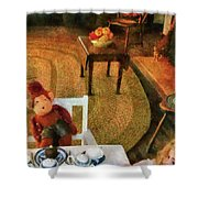 Children - Toys - The Tea Party Shower Curtain