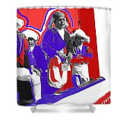 Children Dressed As Founding Fathers 2   Bi-centennial Of The Constitution Tucson Arizona Shower Curtain