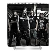 Children Of Bodom Shower Curtain