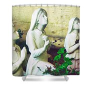 Children Of Fatima Shower Curtain