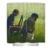 Children Of War Shower Curtain