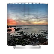 Children's Pool At La Jolla Cove  Shower Curtain