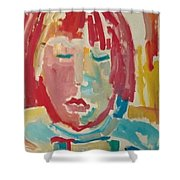 Childrens Portrait Shower Curtain