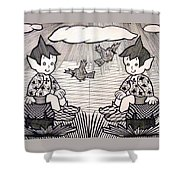 children's World Shower Curtain