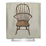 Child's Arm Chair Shower Curtain