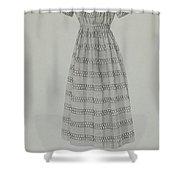 Child's Dress Shower Curtain