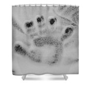 Childs Hand Shower Curtain