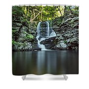 Child's Park Waterfall 2 Shower Curtain